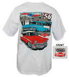 "Chevrolet Parts -  1956 HDTP & NOMAD ""BLUE SUEDE"" SHIRT - XXLARGE"