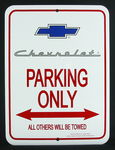 "1955-56""CHEVROLET"" W/BOWTIE PARKING ONLY"