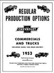 Chevrolet Parts -  REGULAR PRODUCTION OPTIONS FOR 1953