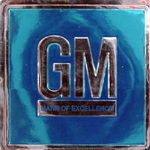 "Chevrolet Parts -  67-72 GM ""MARK OF EXCELLENCE"" DECAL"