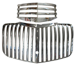Chevrolet Parts -  1941-1946 CHEVY PU GRILLE - CHROME