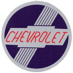 "Chevrolet Parts -  1951-1953 CHEVROLET HEATER DECAL 2-3/4"" OD"