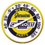 "Chevrolet Parts -  ""GENUINE CHEVROLET PARTS"" THERMOMETER - 12"""