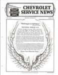 Chevrolet Parts -  1928 CHEVROLET FACTORY SERVICE NEWS