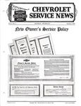Chevrolet Parts -  1930 CHEVROLET FACTORY SERVICE NEWS