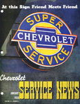 Chevrolet Parts -  1936 CHEVROLET FACTORY SERVICE NEWS