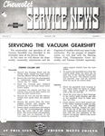Chevrolet Parts -  1939 CHEVROLET FACTORY SERVICE NEWS
