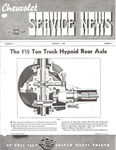 Chevrolet Parts -  1940 CHEVROLET FACTORY SERVICE NEWS