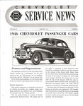 Chevrolet Parts -  1946 CHEVROLET FACTORY SERVICE NEWS