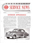 Chevrolet Parts -  1949 CHEVROLET FACTORY SERVICE NEWS