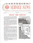 Chevrolet Parts -  1951 CHEVROLET FACTORY SERVICE NEWS