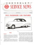Chevrolet Parts -  1952 CHEVROLET FACTORY SERVICE NEWS