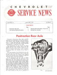 Chevrolet Parts -  1957 CHEVROLET FACTORY SERVICE NEWS