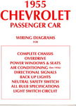 Chevrolet Parts -  1955 PASSENGER WIRING DIAGRAMS