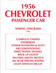 Chevrolet Parts -  1956 PASSENGER WIRING DIAGRAMS