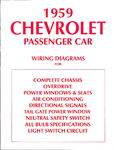 Chevrolet Parts -  1959 PASSENGER WIRING DIAGRAMS