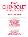 Chevrolet Parts -  1961 PASSENGER WIRING DIAGRAMS
