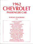 Chevrolet Parts -  1962 PASSENGER WIRING DIAGRAMS